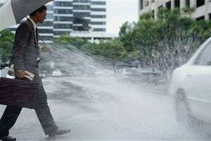 Splashing Pedestrians With Puddles Is It Illegal In Uk