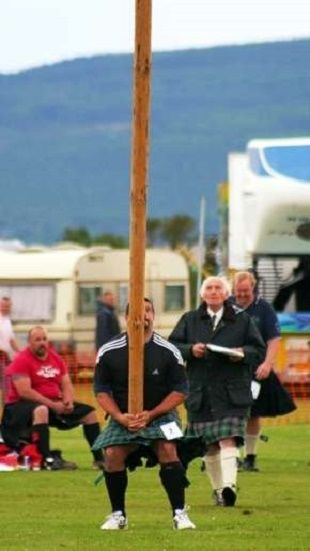 Scottish Highland Games Events Rules: Caber Tossing